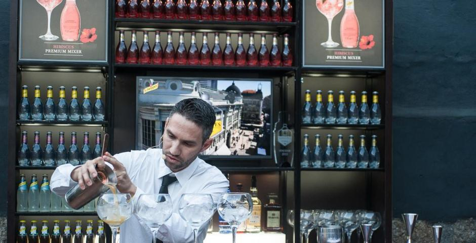 A toast to Portugal's Schweppes Bartender of the Year