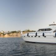 VILA VITA Parc's yatch is at the disposal of its clients.